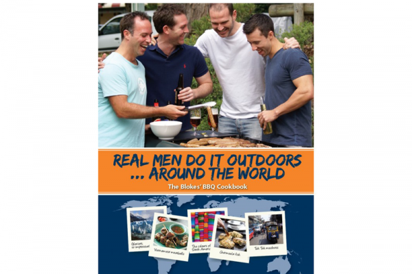 Real Men Do It Outdoors, Around the World Cook Book $24.95