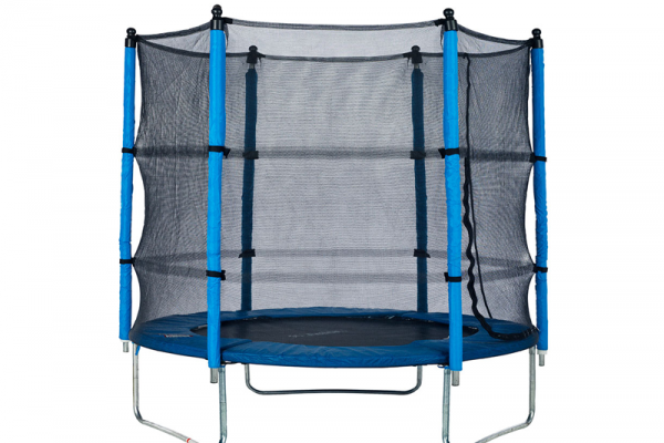 Action 8ft Trampoline Combo with Reversible Dual Coloured Pads – $199.99