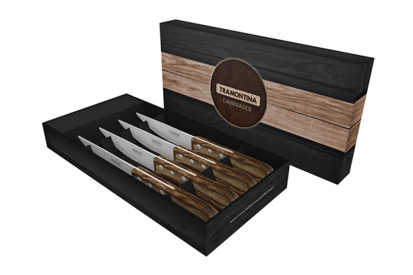 Tramontina Jumbo Steak Knives, 4 Pack - $29.95