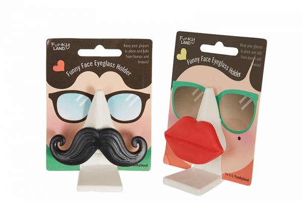 Eyeglasses Holder, Funny Face – $4.95