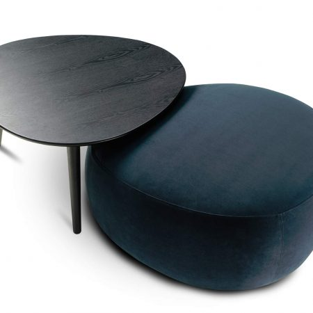 Crescent Ottoman Medium, In Premium King Fabrics from $632