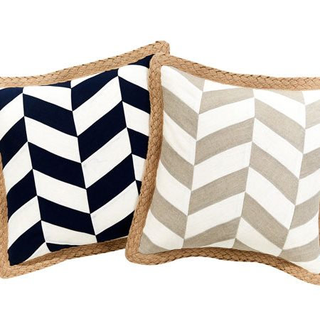 thera-herringbone-cushions @Bed, Bath N Table